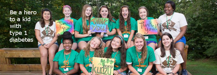 Camp Kudzu kids express gratitude