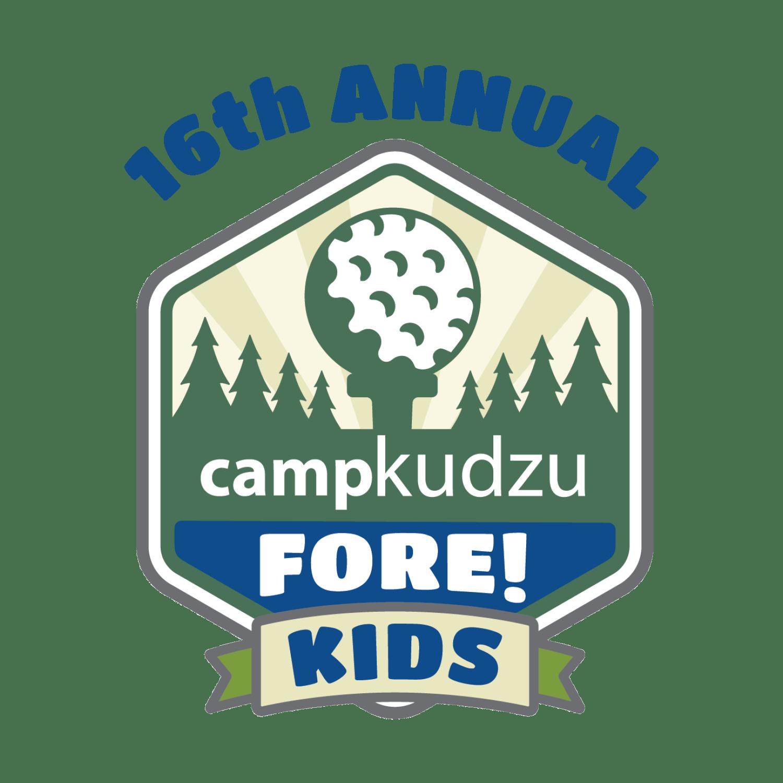 16th Annual Camp Kudzu Fore! Kids logo