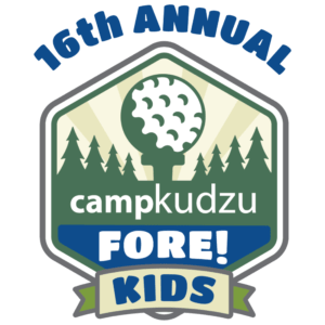 16th Annual Camp Kudzu Fore! Kids logo